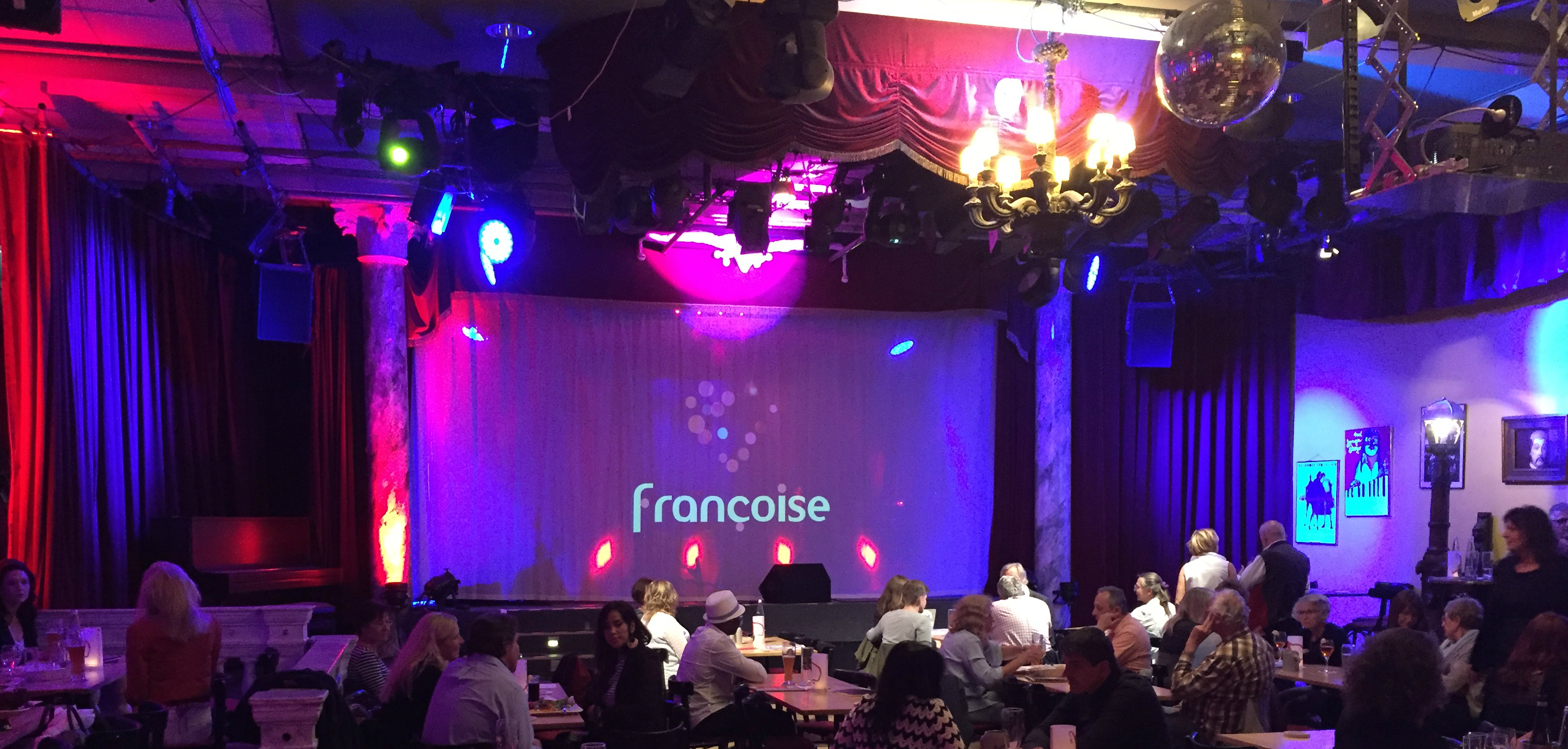 francoise im theater drehleier